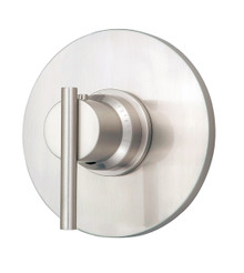 "Danze D562058BNT Parma 3/4"" Thermostatic Valve Trim with Lever Handle - Brushed Nickel"