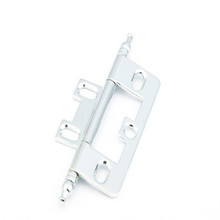 Schaub 1100M-26 Minaret Tip Non-Mortise Hinge - Polished Chrome