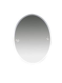"""Valsan  M8000CR Oslo Chrome Bevelled Wall Mirror, 15 3/4"""" W x 19 7/8"""" H"""