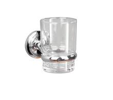 Valsan  M8003NI Oslo Polished Nickel Glass Tumbler Holder