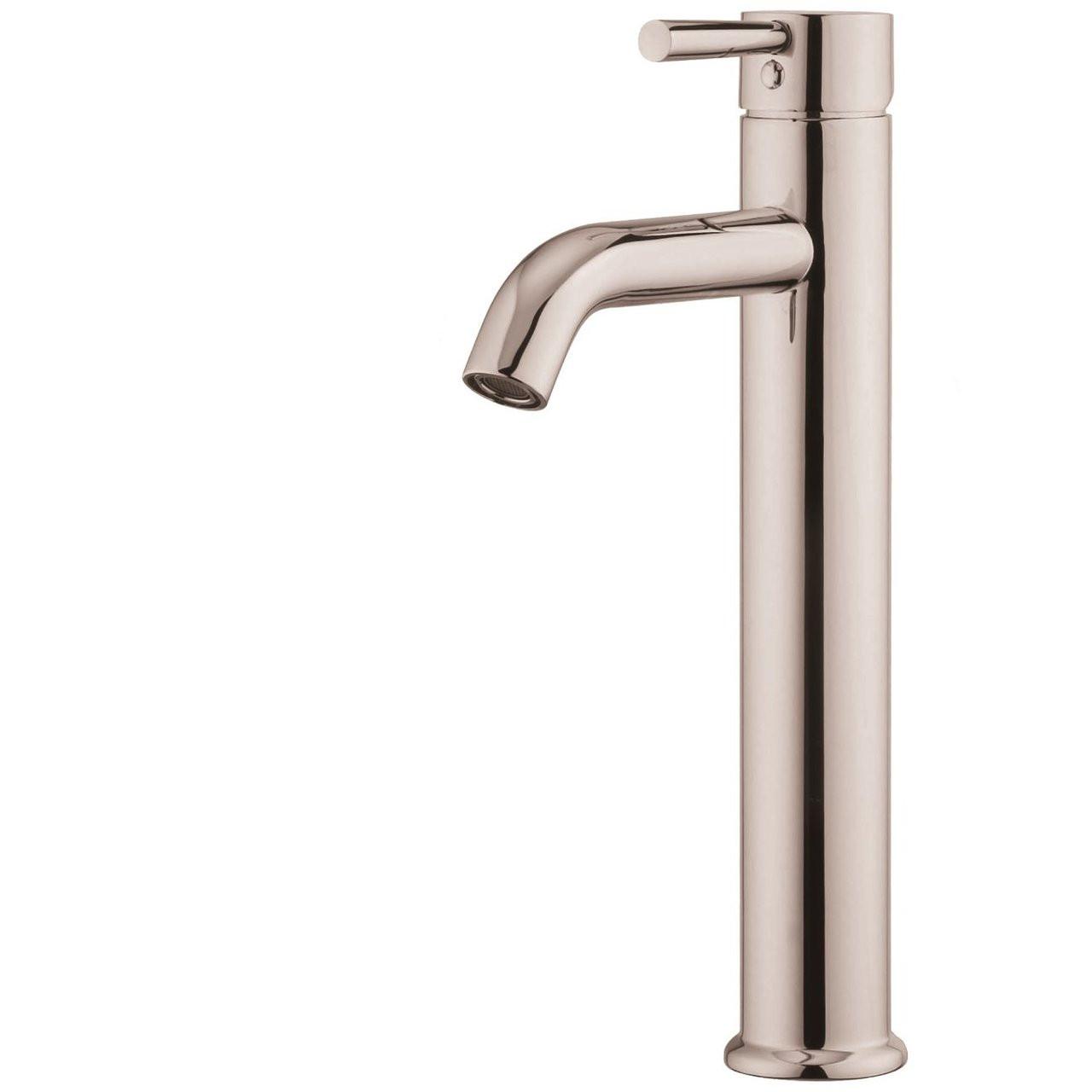 Vanity Art VA10119A1-BN Single Handle Bathroom Vessel Faucet with ...