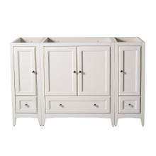 "Fresca  FCB20-123012AW Fresca Oxford 54"" Antique White Traditional Bathroom Cabinets"