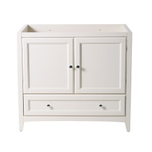 "Fresca  FCB2036AW Fresca Oxford 36"" Antique White Traditional Bathroom Cabinet"