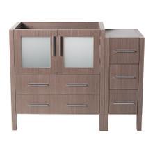 "Fresca  FCB62-3012GO Fresca Torino 42"" Gray Oak Modern Bathroom Cabinet"
