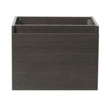 """Fresca  FCB8006GO Fresca Nano Gray Oak 24"""" Wall Hung Modern Bathroom Cabinet"""