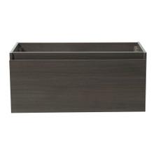"Fresca  FCB8010GO Fresca Mezzo Gray Oak 39"" Wall Hung Modern Bathroom Cabinet"