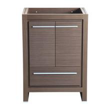 """Fresca  FCB8125GO Fresca Allier 24"""" Gray Oak Modern Bathroom Cabinet"""