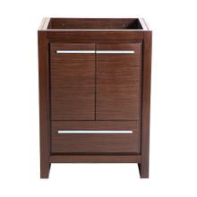 """Fresca  FCB8125WG Fresca Allier 24"""" Wenge Brown Modern Bathroom Cabinet"""