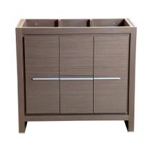 """Fresca  FCB8136GO Fresca Allier 36"""" Gray Oak Modern Bathroom Cabinet"""