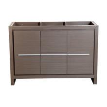 """Fresca  FCB8148GO Fresca Allier 48"""" Gray Oak Modern Bathroom Cabinet"""