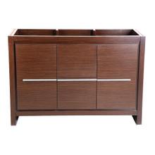 """Fresca  FCB8148WG Fresca Allier 48"""" Wenge Brown Modern Bathroom Cabinet"""
