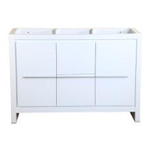 """Fresca  FCB8148WH Fresca Allier 48"""" White Modern Bathroom Cabinet"""