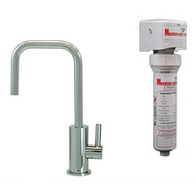 Mountain Plumbing MT1833FIL-NL-PVDPN Point-of-Use Drinking Faucet With Water Filtration System - PVD Polished Nickel