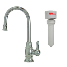 Mountain Plumbing MT1853FIL-NL-PVDBRN Point-of-Use Drinking Faucet With Water Filtration System - PVD Brushed Nickel