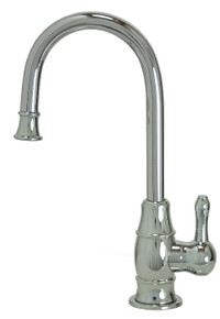 "Mountain Plumbing MT1853-NL-PVDPN ""The Little Gourmet"" Point-of-Use Drinking Faucet - PVD Polished Nickel"