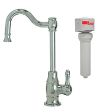 Mountain Plumbing MT1873FIL-NL-PVDBRN Point-of-Use Drinking Faucet With Water Filtration System - PVD Brushed Nickel