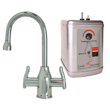 Mountain Plumbing MT1801DIY-NL-PVDPN Instant Hot & Cold Water Dispenser Faucet With Heating Tank - PVD Polished Nickel