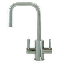 """Mountain Plumbing MT1831-NL-PVDBRN """"The Little Gourmet"""" Instant Hot & Cold Water Faucet - PVD Brushed Nickel"""