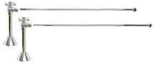 Mountain Plumbing MT6123X-NL-PN Lavatory Supply Kit - Angle Sweat - Polished Chrome