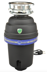 Mountain Plumbing  MT666-3CFWD3B  Perfect Grind Waste Disposer Continuous Feed 3-Bolt Mount 3/4 HP