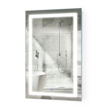 """Bathroom Vanity LED Lighted Mirror With Dimmer & Defogger - Icon 20 """" x 32 """""""