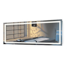 """LED Lighted Bathroom Vanity Mirror with Dimmer & Defogger - Icon 72 """" X 30 """""""