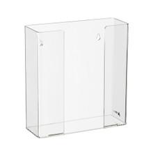 Alpine  902-02 Clear Acrylic Wall Mount 2 Box Glove Holder