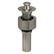 Whitehaus 10.615-C Lift and Turn Drain with Pull-up Plug for Above Mount Installation - Polished Chrome