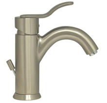 Whitehaus 3-04012-BN Galleryhaus Single Handle Lavatory Faucet with Pop-up Drain  - Brushed Nickel