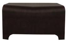 Whitehaus AEB38T Aeri Wood Stool - Ebony