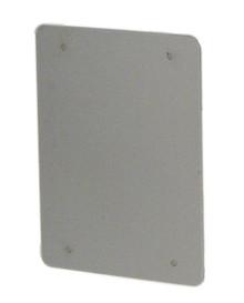 Whitehaus AEP4538PL Aeri Rectangular Non-Sliding Door - Aluminum