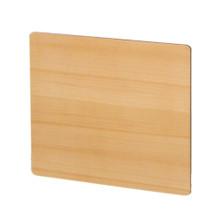Whitehaus AEP4545N Aeri Square Sliding Door for Dual-Shelf Aluminum Structures - Natural (Birchwood)