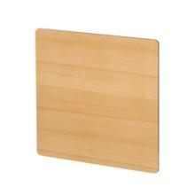 Whitehaus AEP4545PL Aeri Square Sliding Door for Dual-Shelf Aluminum Structures - Aluminum