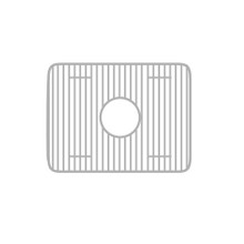 """Whitehaus WHREV2018 Stainless Steel Sink Grid for use with Fireclay 20"""" Reversible Series Sinks"""