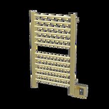 "Amba  Sirio S2133SB Towel Warmer & Space Heater - 24"" W x 33 1/4"" H x 4 3/4"" D - Satin Brass"