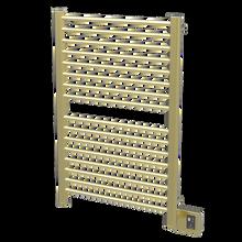 "Amba  Sirio S2942SB Towel Warmer & Space Heater - 32"" W x 44"" H - Satin Brass"