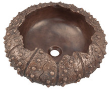 Polaris P469 Bronze Bathroom Vessel Sink with Deep-Sea Allure, 18 inch