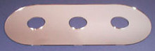 PPP Mfg Co CU-300 Wall Cover Up Plate for Triple Handle Faucets