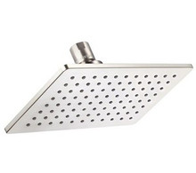 Danze D460059BN Mono Chic Rectangular Showerhead With Brass Ball Joint 2.0 GPM Max Flow - Brushed Nickel