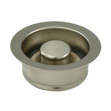 """Kingston Brass BS3008 3-1/2"""" Garbage Disposal Flange - Satin Nickel"""