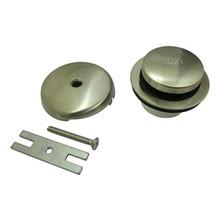 Kingston Brass DTT5302A8 Toe Tap Drain Kit - Satin Nickel