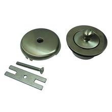 Kingston Brass DLT5301A8 Lift And Turn Tub Drain Kit - Satin Nickel