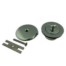Kingston Brass DLT5301A1 Lift And Turn Tub Drain Kit - Polished Chrome