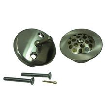 Kingston Brass DTL5305A8 Grid Tub Drain Kit - Satin Nickel