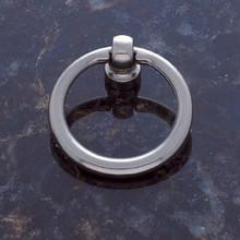JVJ 31046 Satin Nickel Ring Door Pull