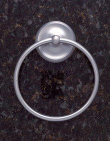 JVJ 24206 Paramount Series Satin Nickel Towel Ring
