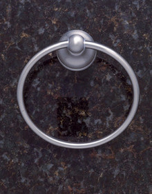 JVJ 24006 Liberty Series Satin Nickel Towel Ring