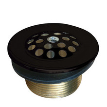 Kingston Brass DTL205 Tub Drain Strainer & Grid - Oil Rubbed Bronze