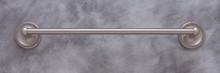"JVJ 23618 Roped Series Satin Nickel 18"" Towel Bar"