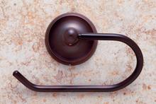 JVJ 24405 Paramount Series Old World Bronze Euro Toilet Tissue Paper Holder